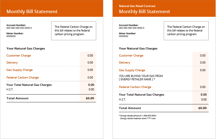 Understanding your natural gas bill.