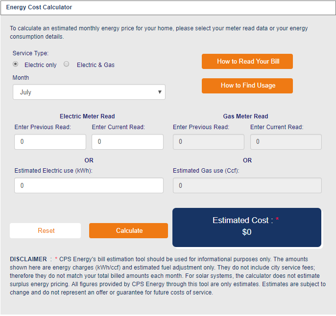 Estimate your energy bill with the new Energy Cost Calculator.
