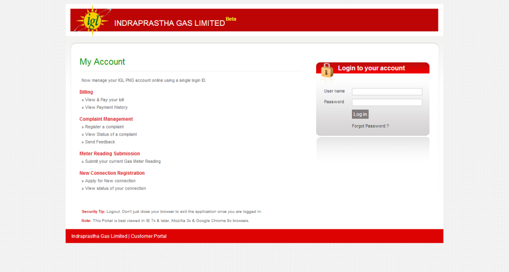 Igl png gas bill payment online 3 » PNG Image.