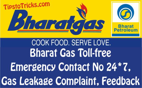 Bharat Gas Toll.
