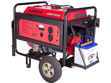 Sanco Petrol & Gas Generator 6.5 KW.
