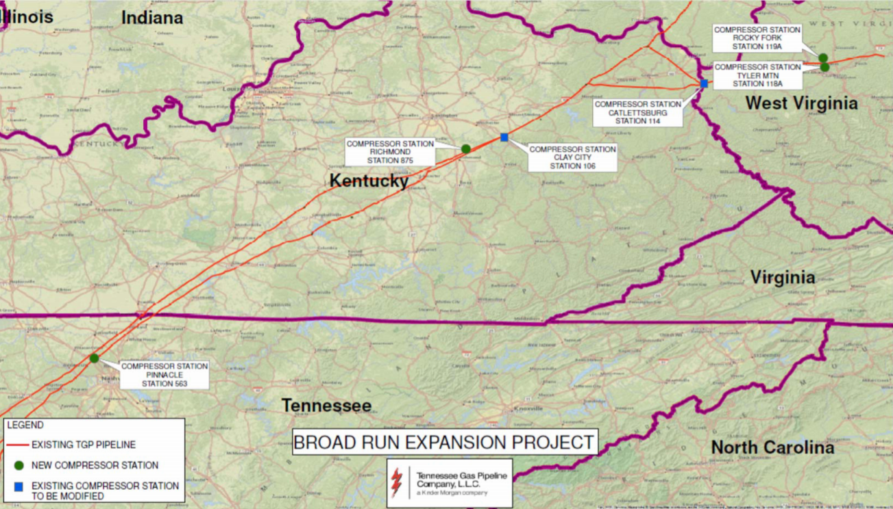 Court Rejects Challenge to Tennessee Gas Pipeline Project.