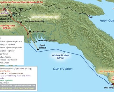 PNG LNG royalties start.
