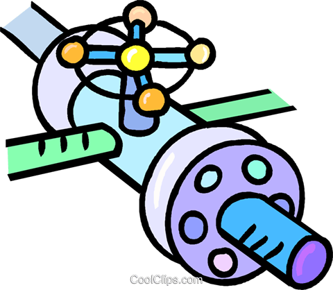 natural gas pipeline Royalty Free Vector Clip Art.