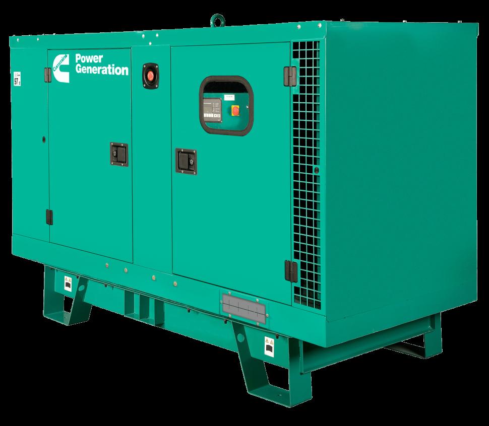 Diesel Generator Transparent Background.