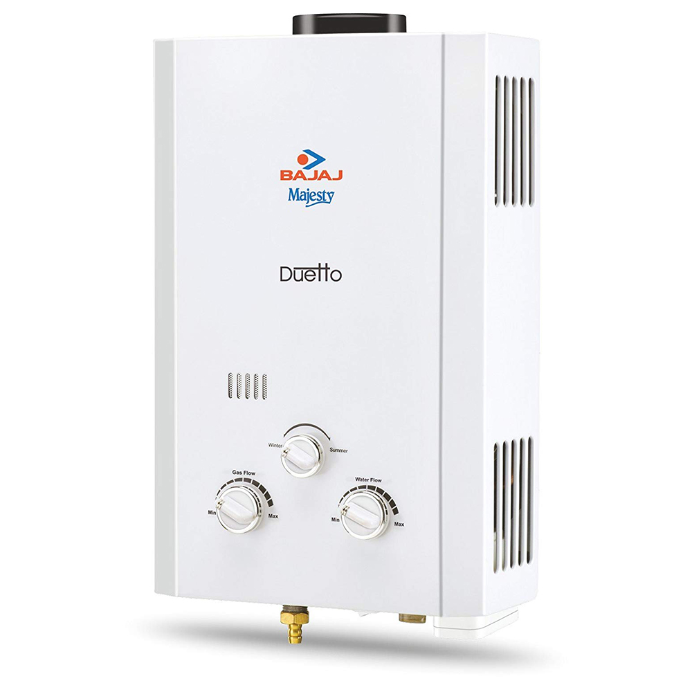Bajaj Geyser Majesty Duetto Gas Water Heater (PNG) Price in.