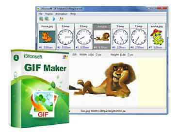iStonsoft GIF Maker, Create animated gif from JPG/JPEG, BMP.