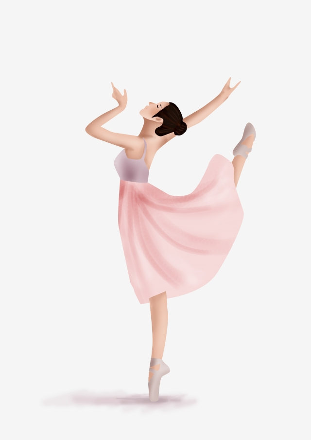 Dancing Girl PNG Images.