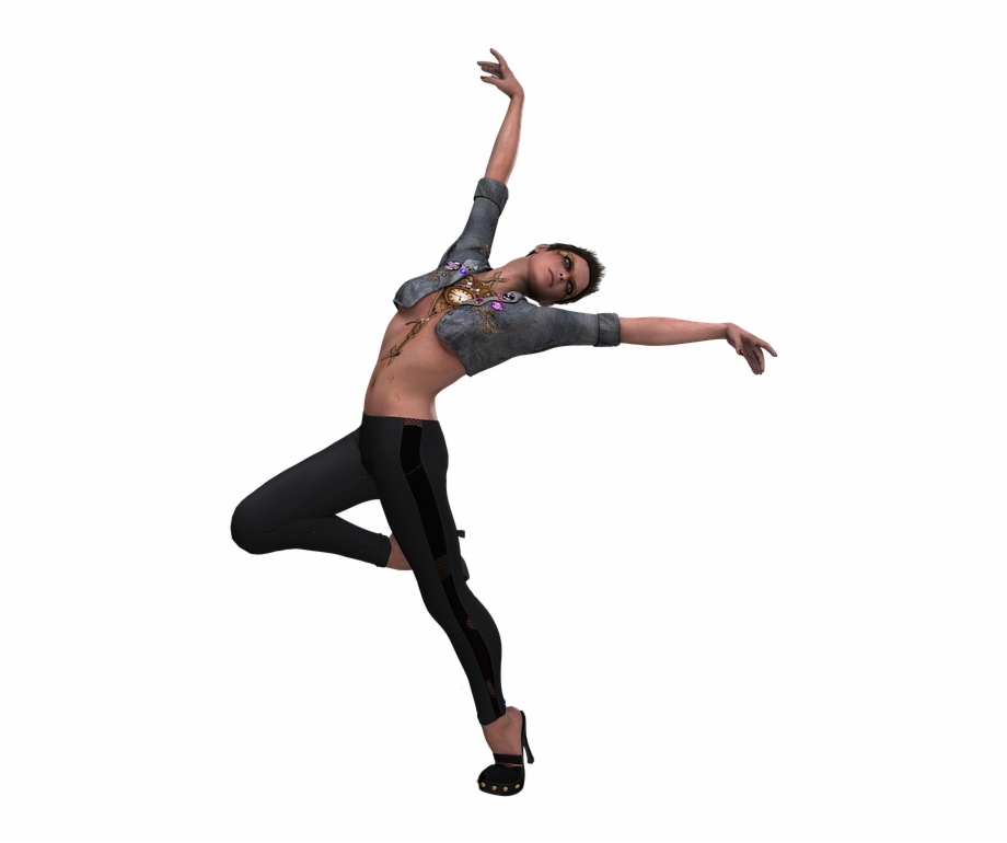 Girl Dance Png Photo.