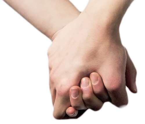 Girl Hand Free PNG Image.