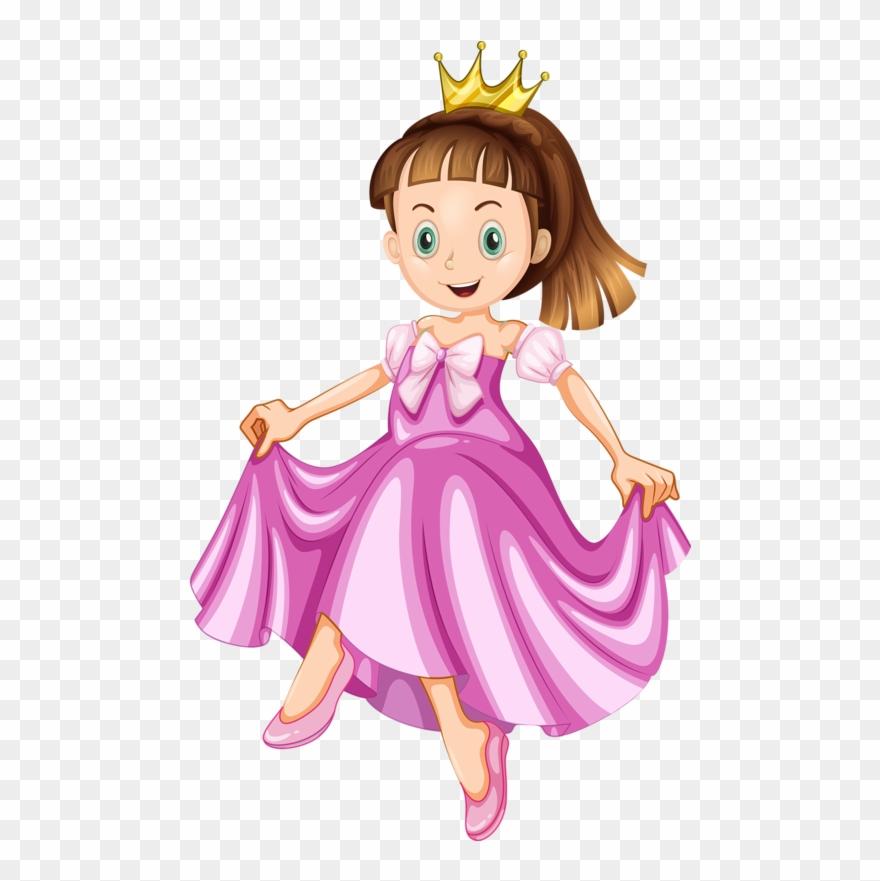 Princess Girl Clip Art Couronne Royale, Scrapbook,.