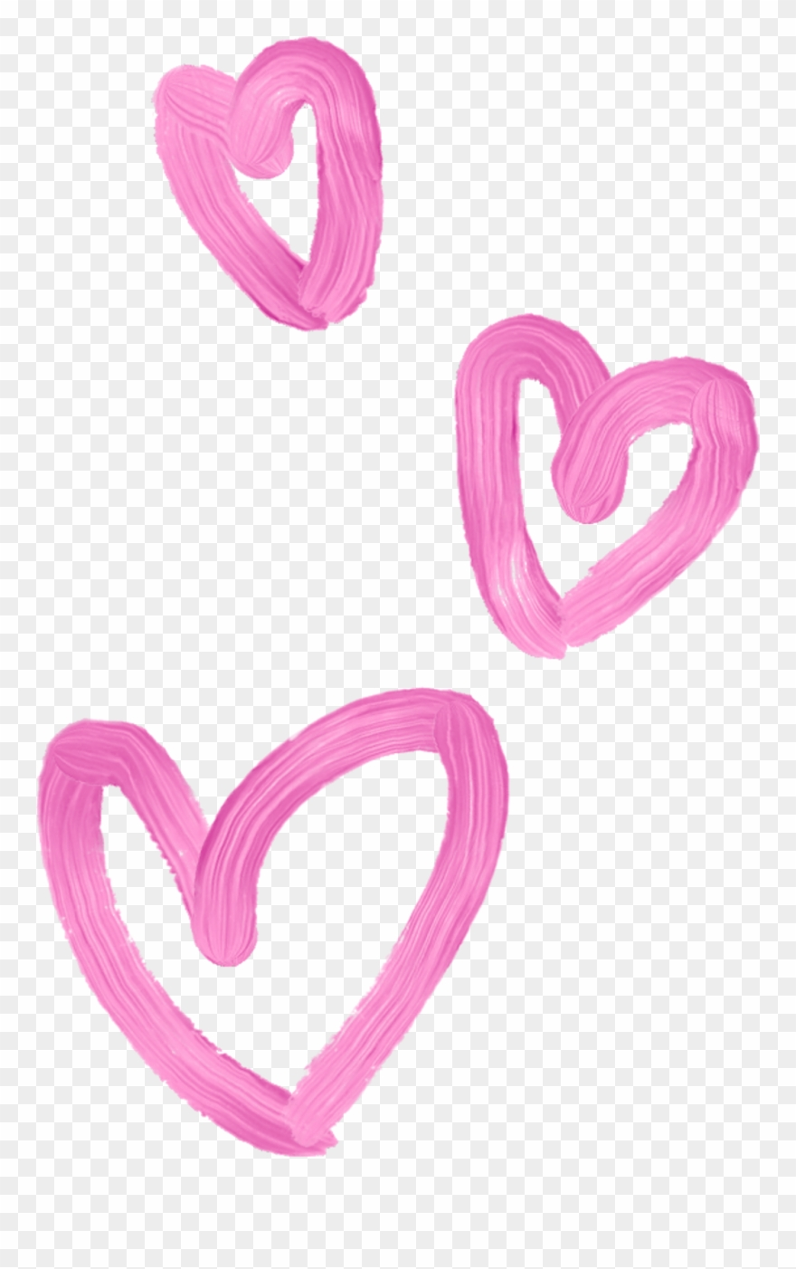 Lovely Girly Hearts Corazones Tiara 3d Whatsapp Pink.
