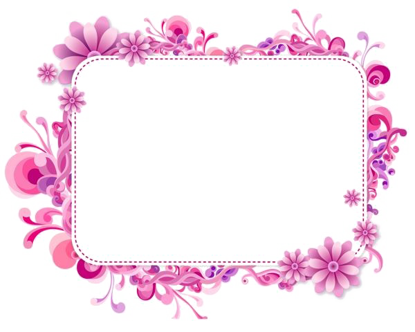 Download Free png Girly Border PNG Photos.