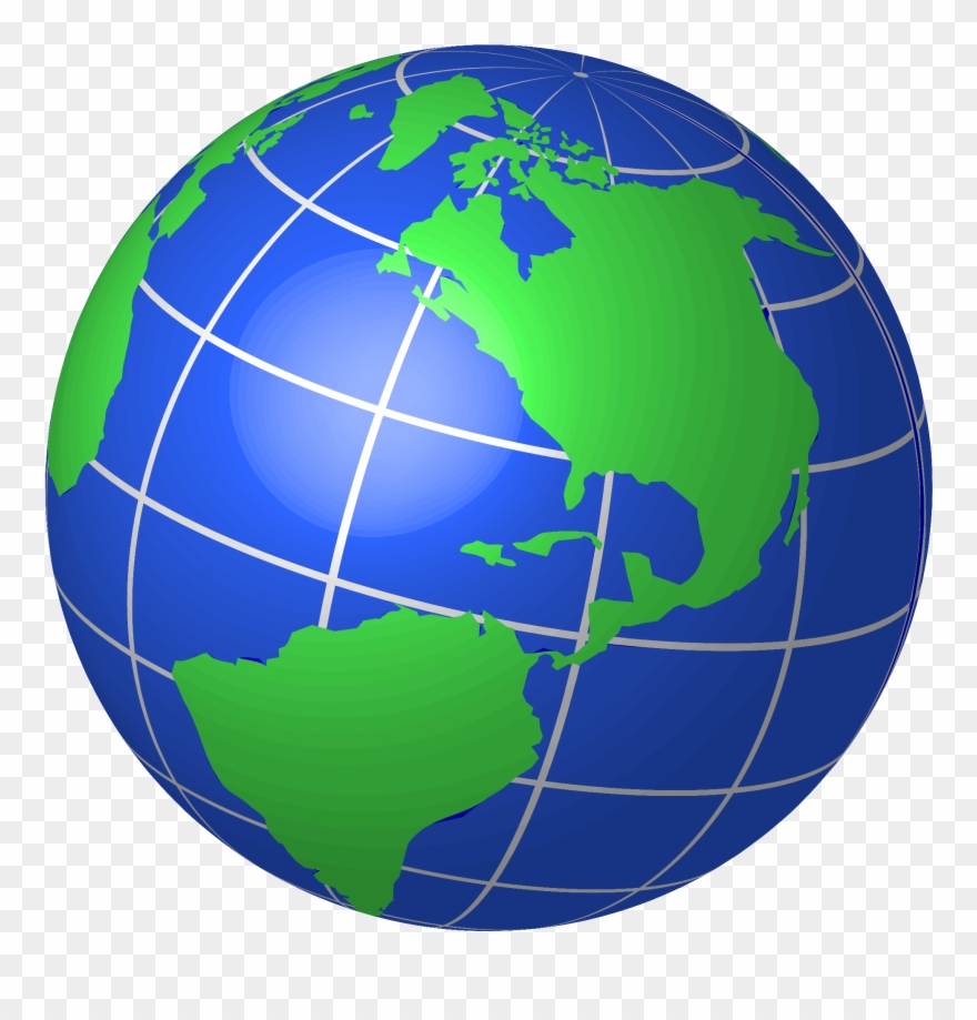 Clipart Of World, Globe And Global.