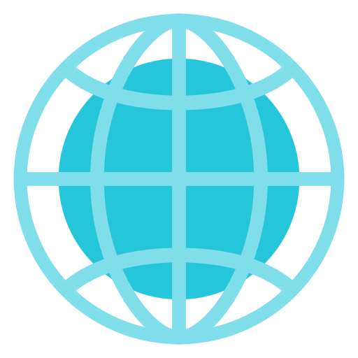 Internet, global, connection, globe, network Icon Free of.
