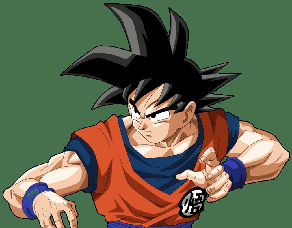 Goku Ready transparent PNG.