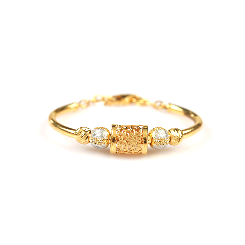 Luxe Lustre Gold Bracelet for Kids.