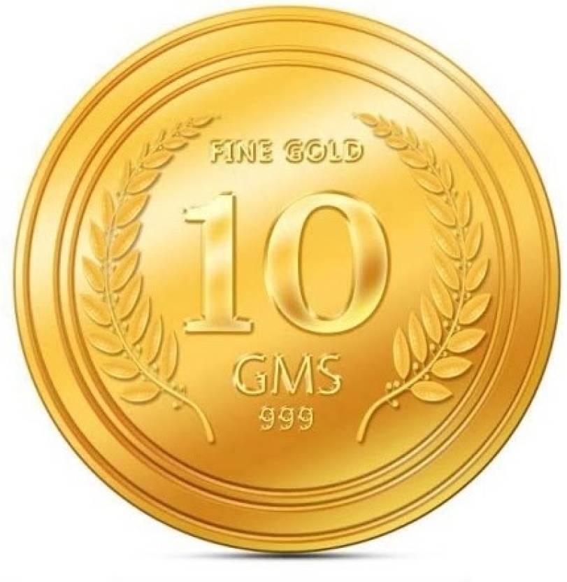 Euphoria 24 (999) K 10 g Gold Coin.