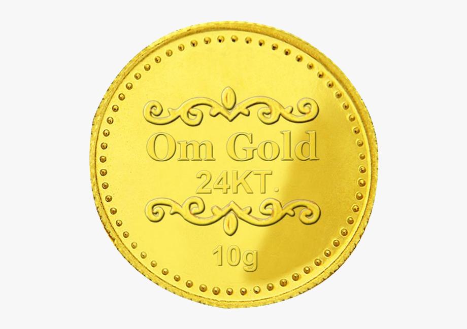 Lakshmi Gold Coin Png Clipart.