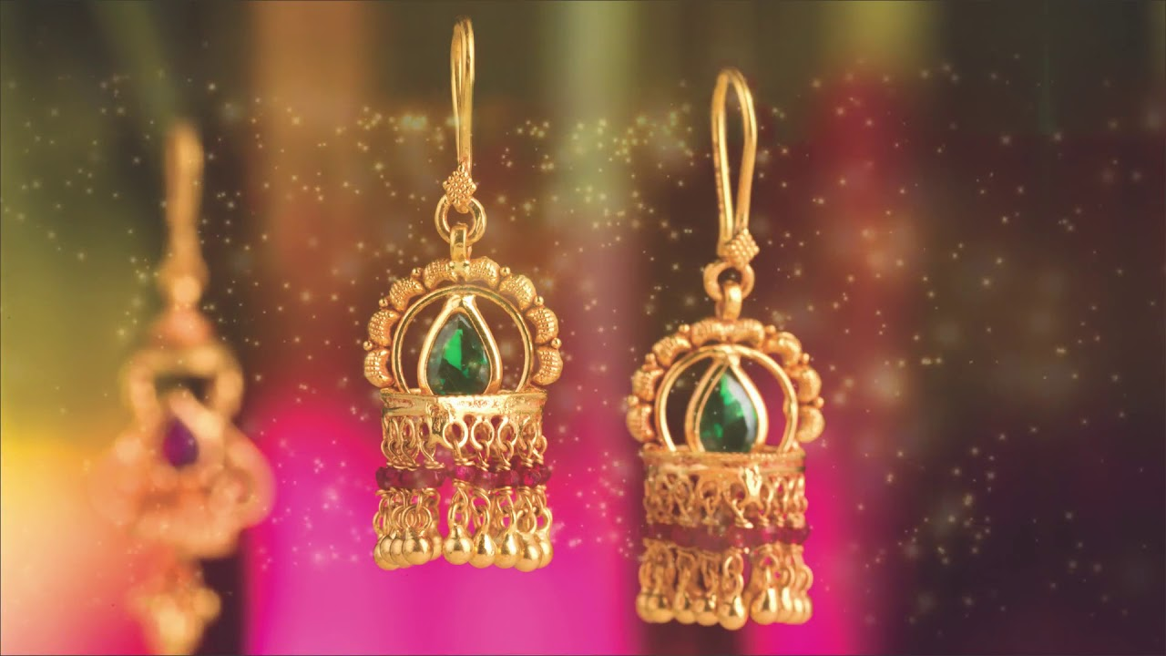 Gold Earrings PNG & Sons.