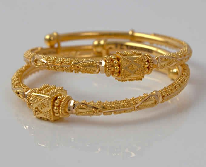 Pin by GM Reddy on gold bangles.