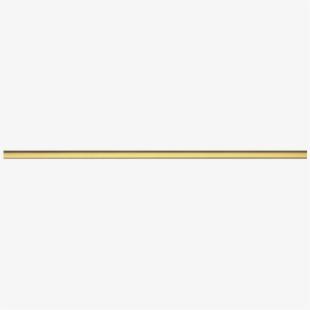 Decorative Line Gold Clipart Divider.