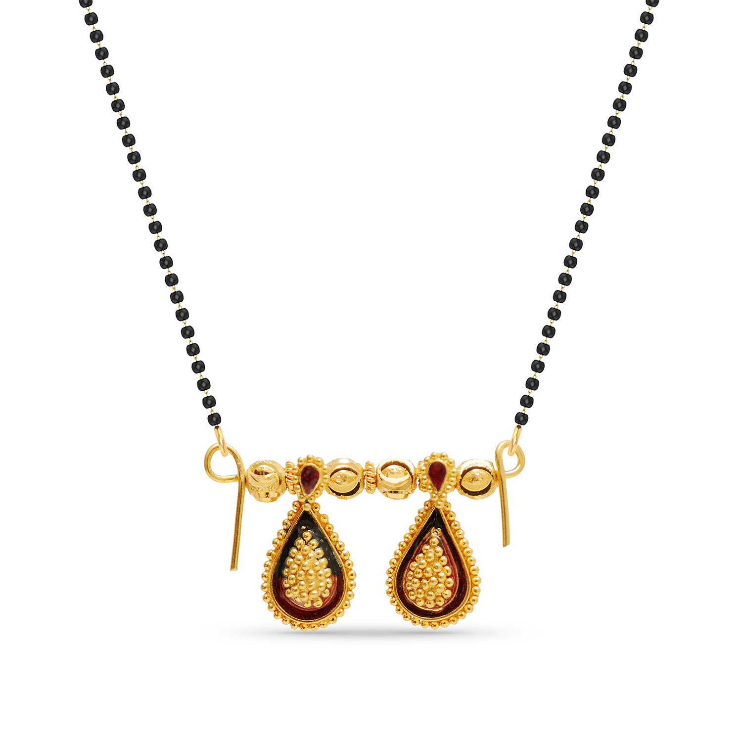 Tejashree Drop Watimani Mangalsutra.