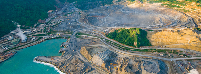Environmental and social concerns at the Lihir gold mine.