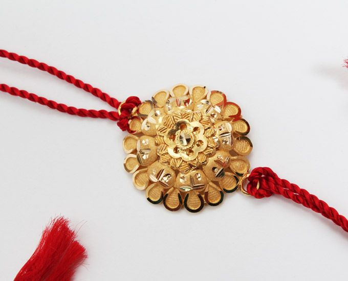This raksha bandhan surprise your brother with 22k gold.