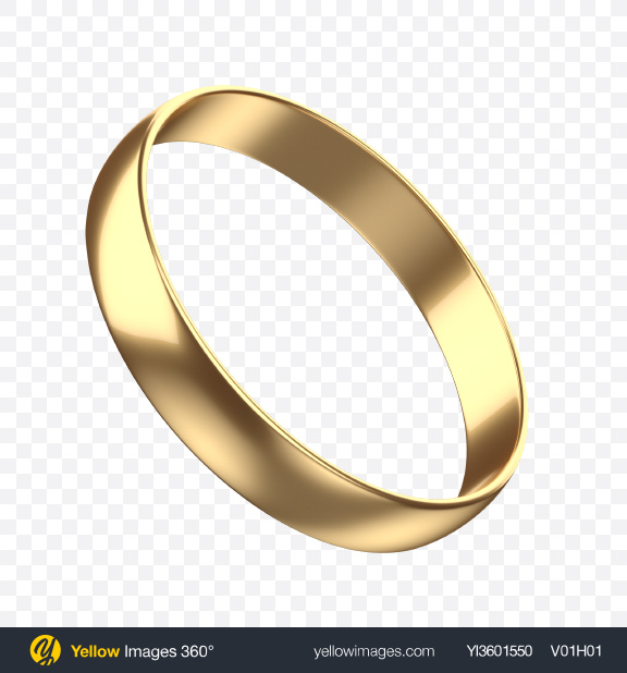 Download Gold Ring Transparent PNG on Yellow Images 360°.
