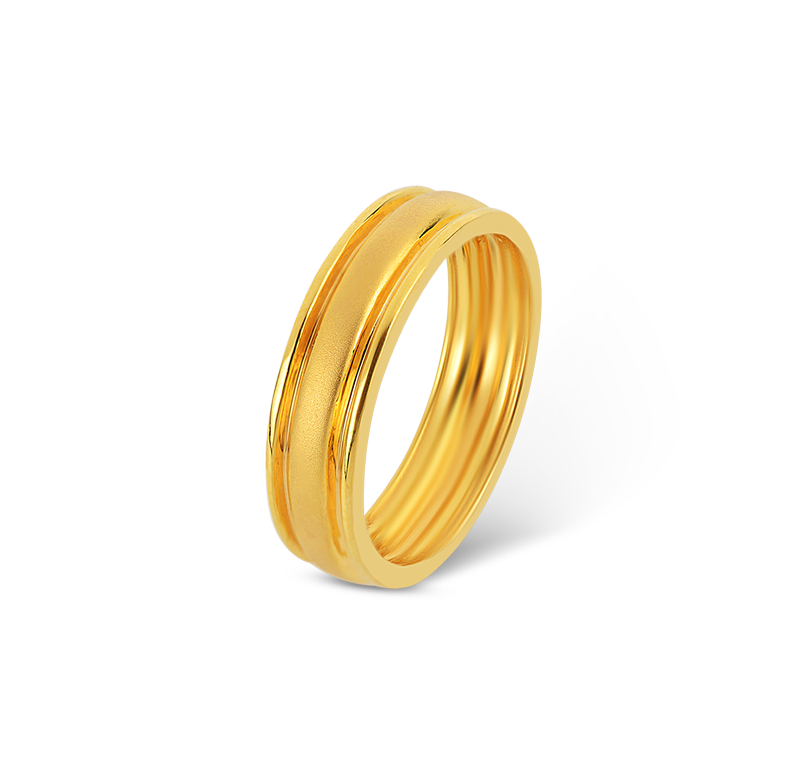ORRA Gold Ring For Him.