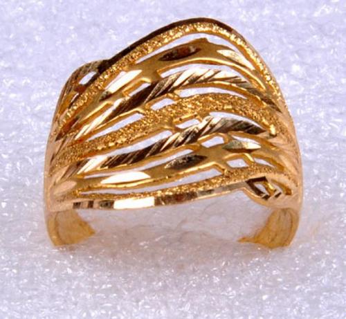 Gold Ring Sj 200135.