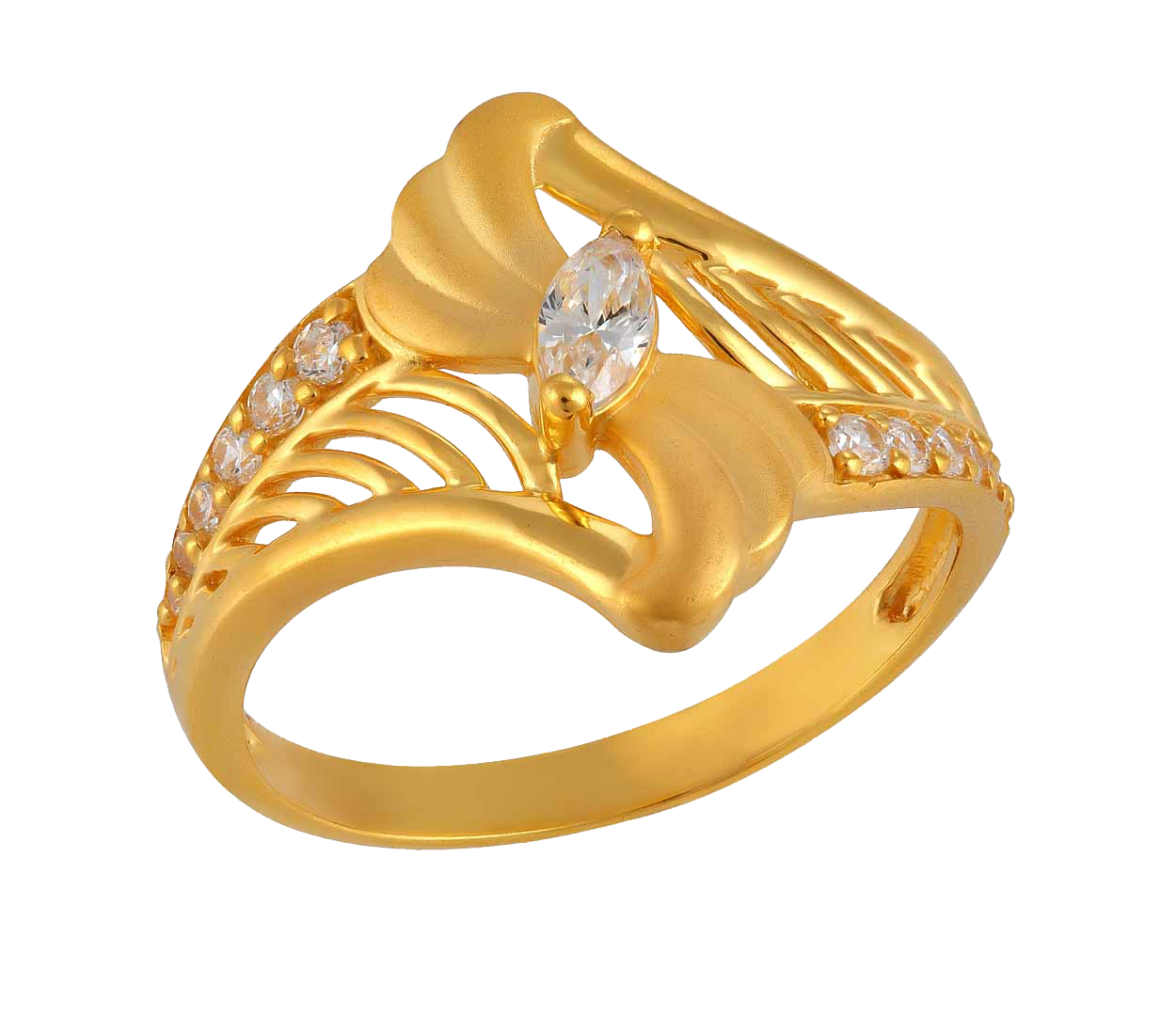 Download Gold Rings HQ PNG Image.