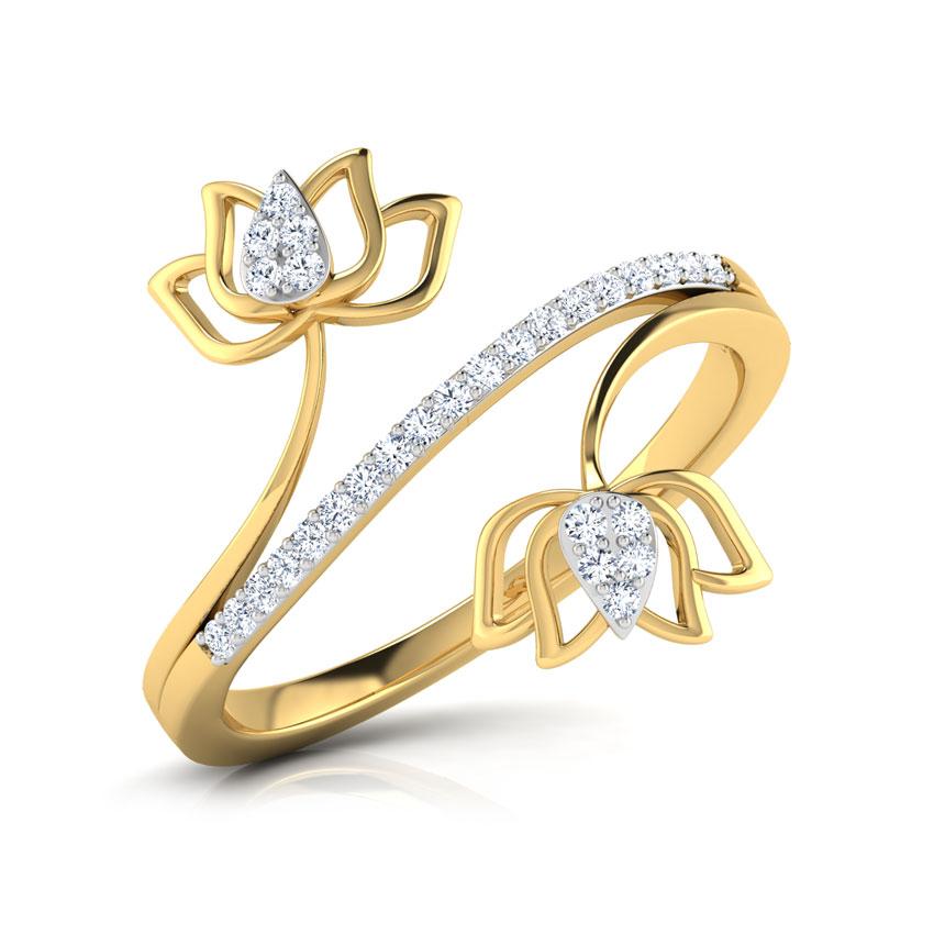 Lotus Blossom Ring.