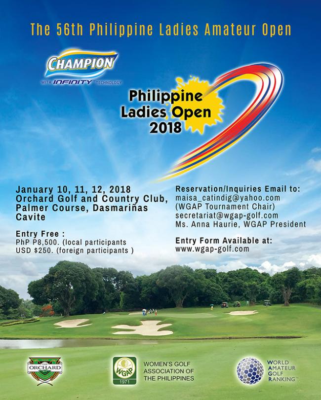 Philippine Ladies Open 2018.