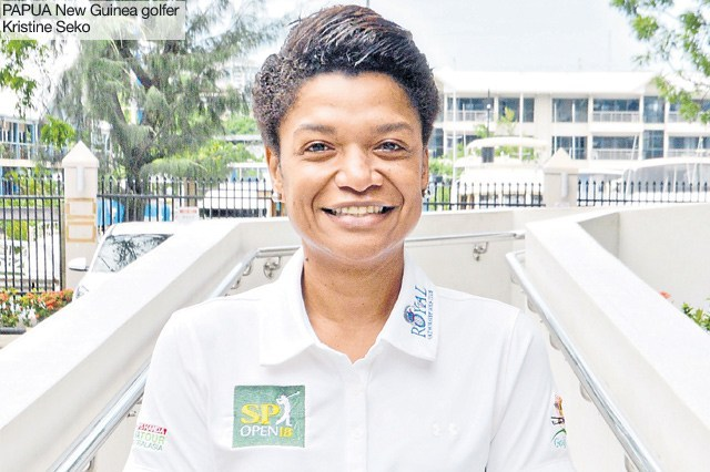 Seko to become brand ambassador for 2018 PNG Golf Open.
