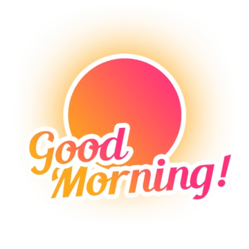 Good Morning PNG Image.PNG.