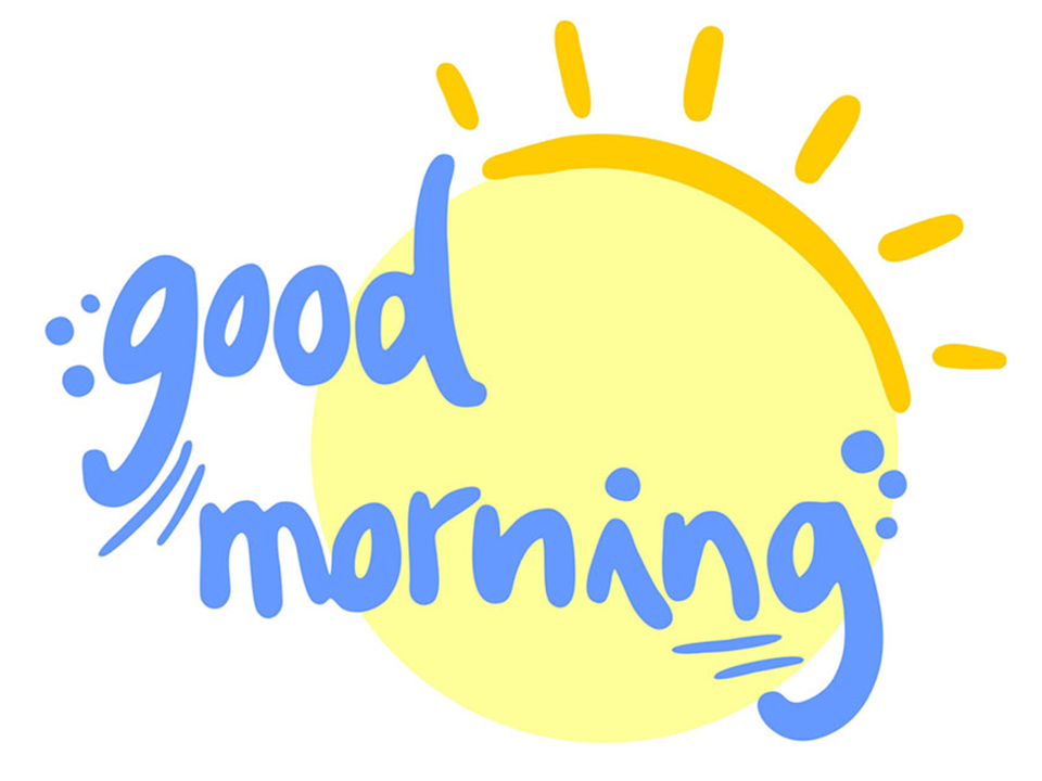 HQ Good Morning PNG Transparent Good Morning.PNG Images.