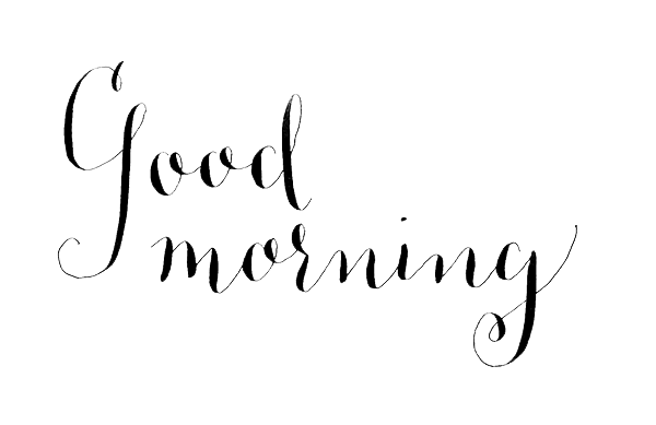 Good Morning PNG Images Transparent Free Download.