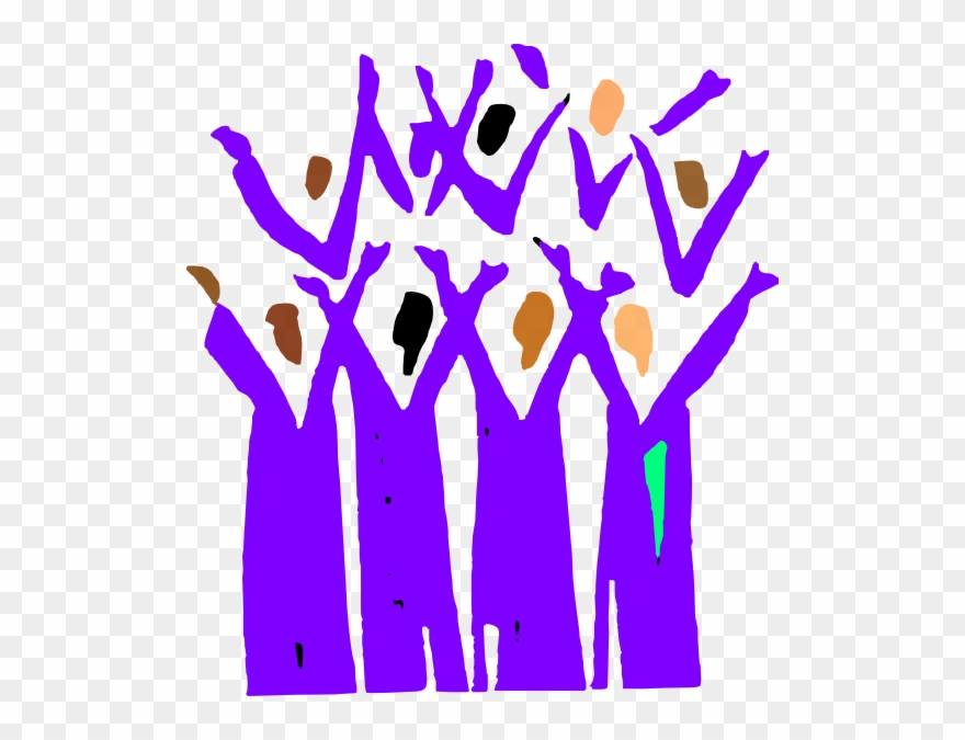 Gospel Choir Clip Art.