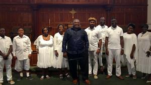 Charleston\'s Oh Happy Day Gospel Music Series.