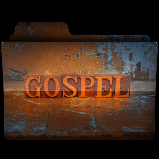 Gospel Music Folder 2 Icon, PNG ClipArt Image.