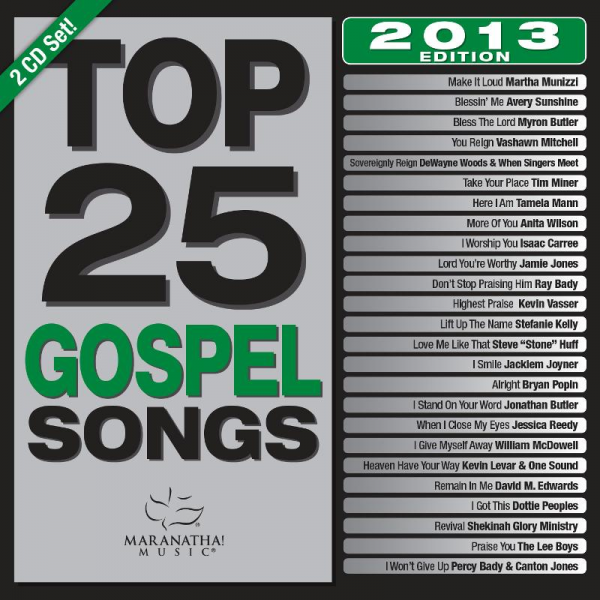 Bryan Popin Part of Top 25 Gospel Song Compilation.