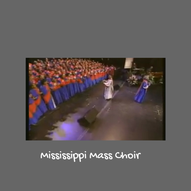 She\'s Got the Anointing, They Got the Word: Mosie Burks.
