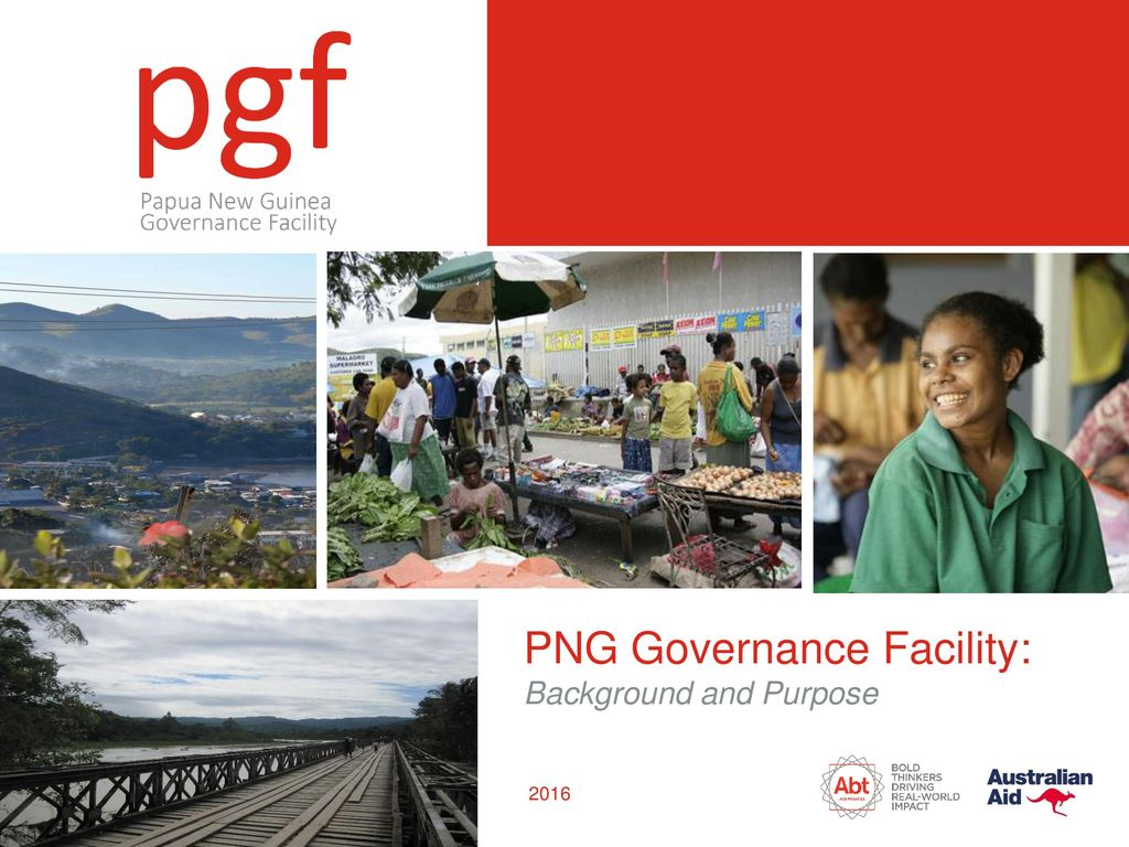 PNG Governance Facility:.