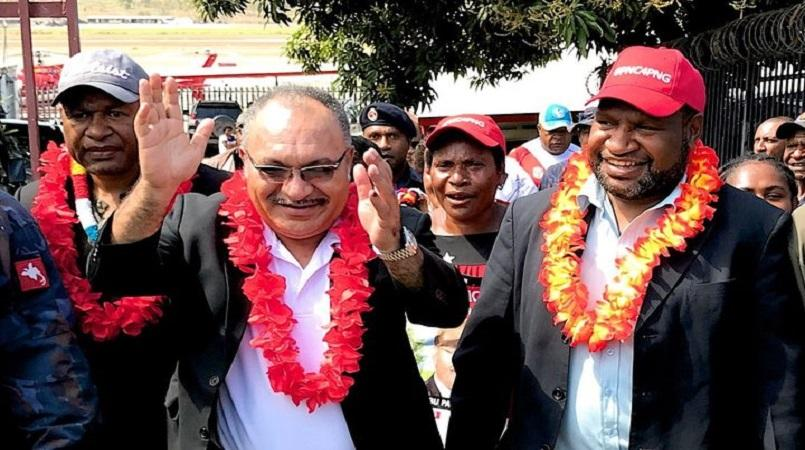 Shock ministerial resignations rattle PNG government.
