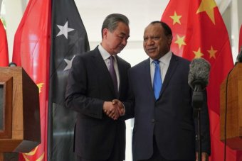 APEC 2018: Chinese officials barge into PNG Foreign.