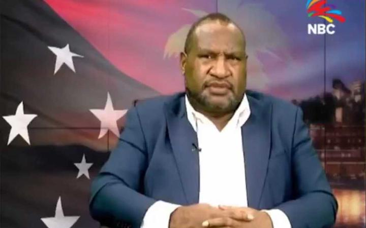 Marape promises to rebuild country in first address to PNG.
