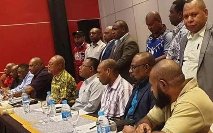 Nine more MPs quit PNG government.