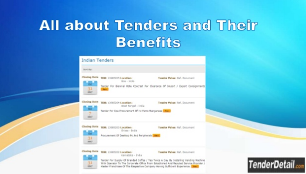 Find the latest Indian government tenders news and.